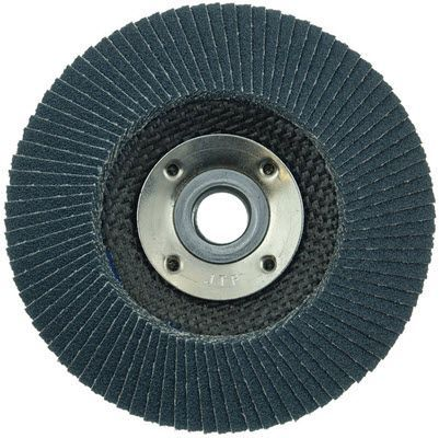 "Weiler Tiger Paw Flap Disc - 4 1/2"" Type 29 w/Hub 60 Grit 51125"