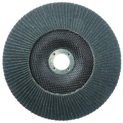 """Weiler Tiger Paw Flap Disc - 7"""" Type 29 7/8 Arbor 40 Grit 51145"""