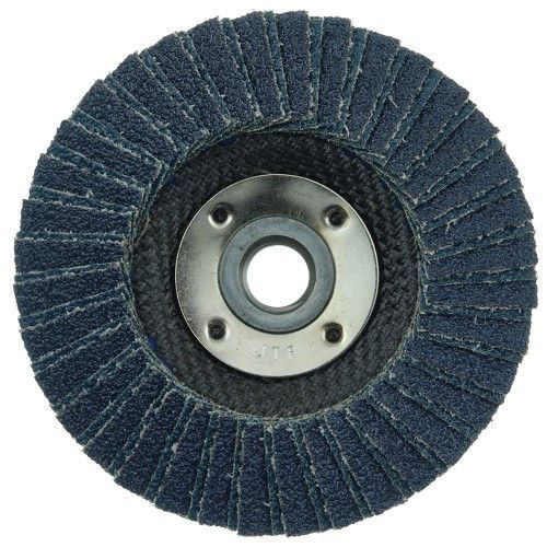 "Weiler Tiger X Flap Disc - 4-1/2"" Type 29 w/Hub 40 Grit 51205"