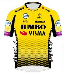 SOLD OUT !!  Jumbo Visma Premium Grade SS Cycling Jersey