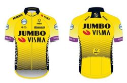 Coming Soon!!  Jumbo Visma SS Replica Cycling Jerseys 2021