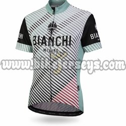 Women's ATELLA Bianchi Milano SS Cycling Jersey 2018 color 4020