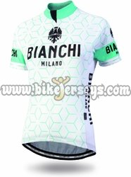 Women's Bianchi Milano NEVOLA SS Cycling Jersey 2018 color 4020