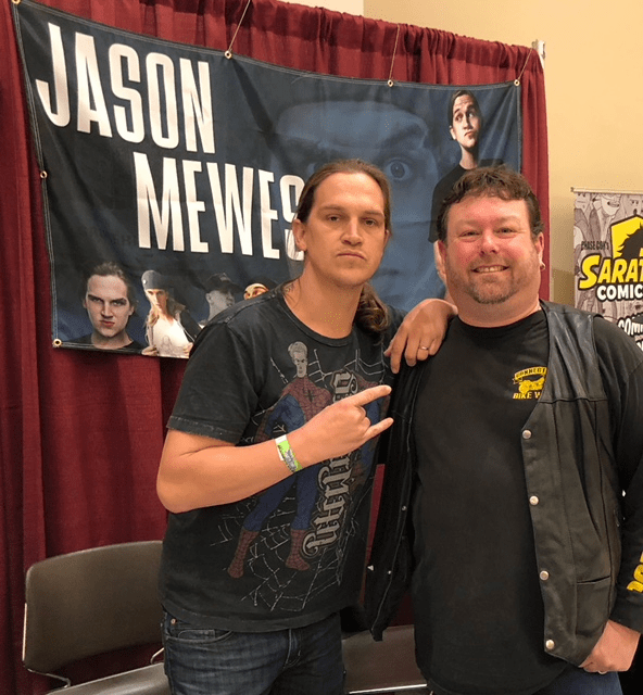 Chilling with Jason Mewes