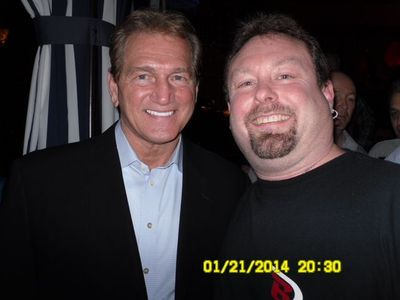 Chilling with Joe Theismann