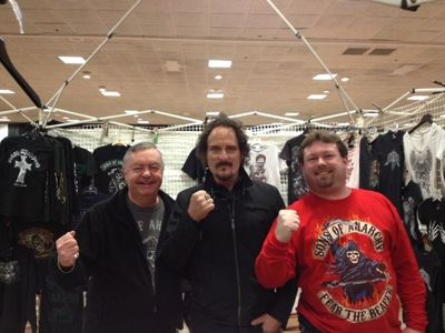 Dad and I with Tig