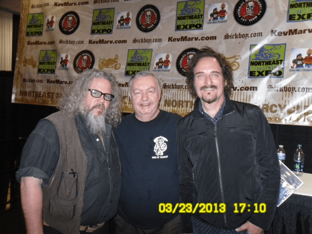 Dad with Tig & Bobby