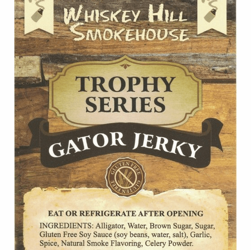 Whiskey Hill Smokehouse Gator Jerky ~ Gluten Free!!!