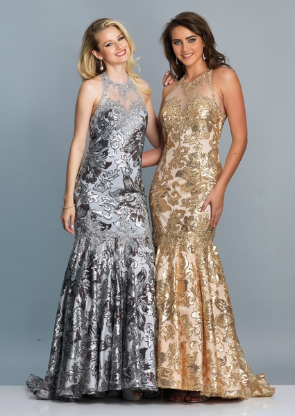 Dave and Johnny Prom Dress 3333