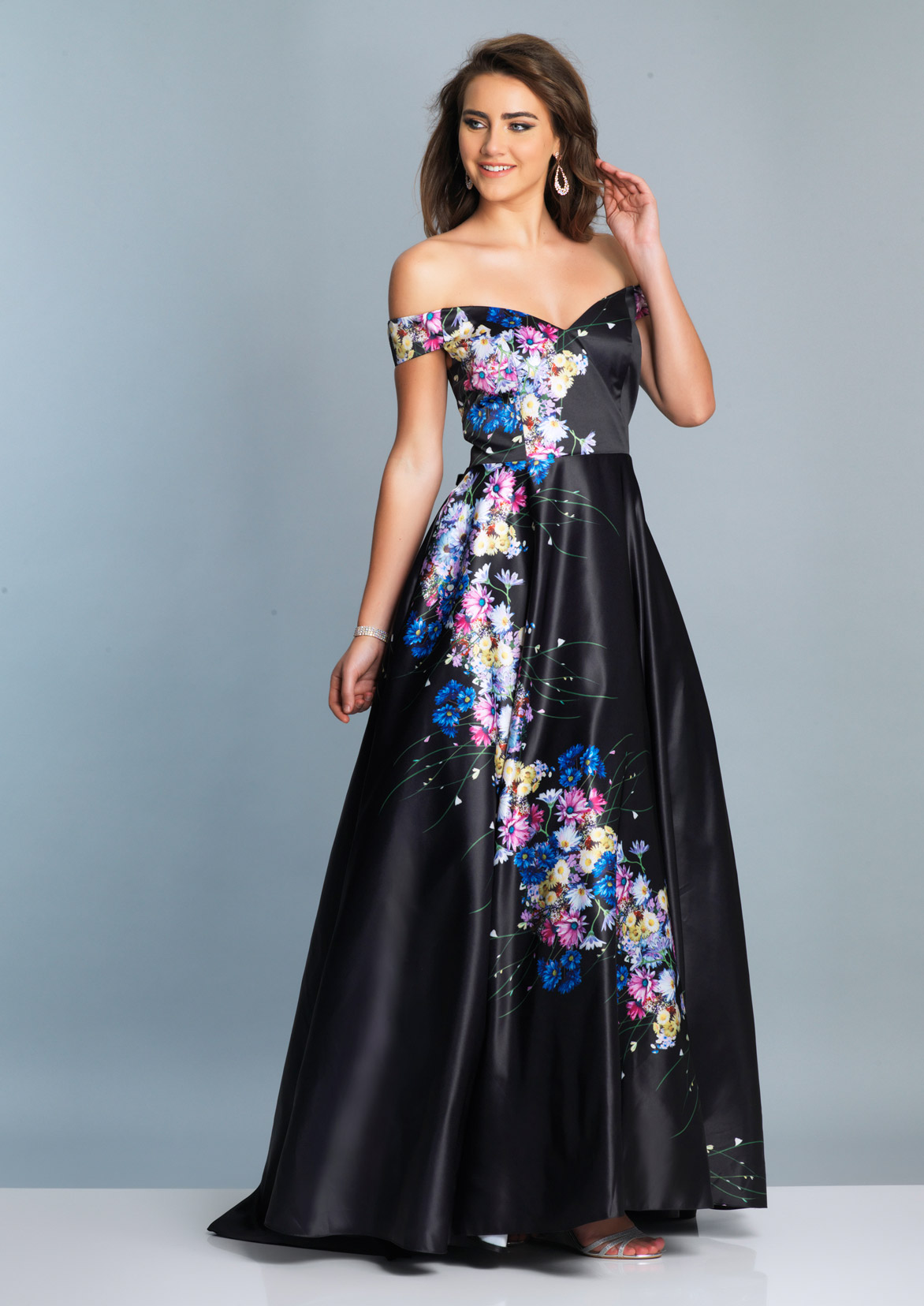 0c62c2d226e Black Prom Dresses by Dave and Johnny