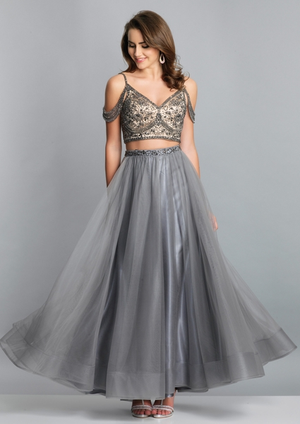 Dave and Johnny Prom Dress A6776