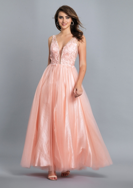 Dave and Johnny Prom Dress A6876