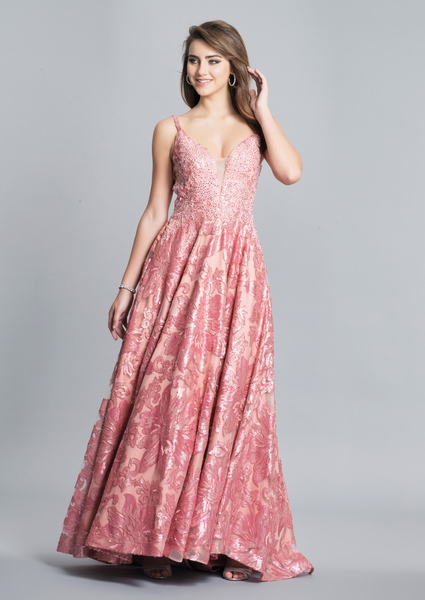 Dave and Johnny Prom Dress A6923