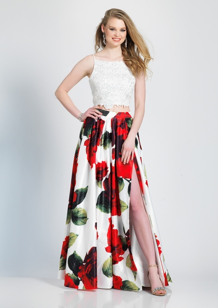 Dave and Johnny Prom Dress A6984