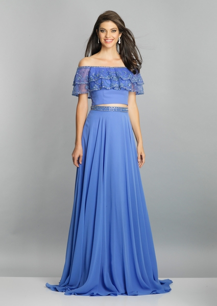 Dave and Johnny Prom Dress A7030