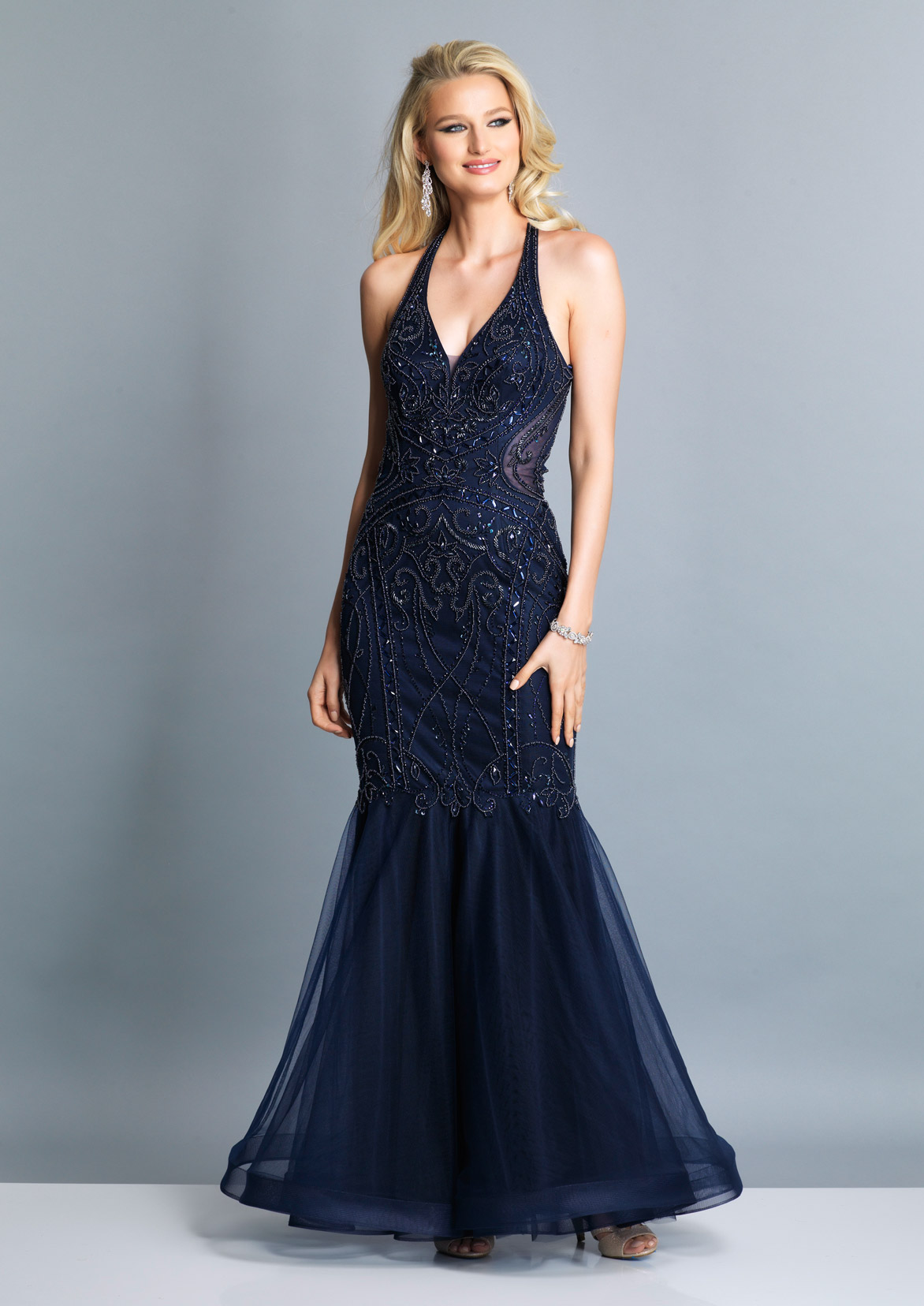 74362a9ba8b06 Blue Prom Dresses by Dave and Johnny