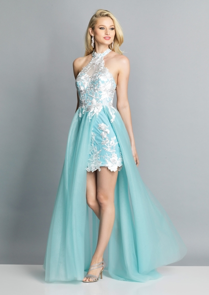 Dave and Johnny Prom Dress A7665