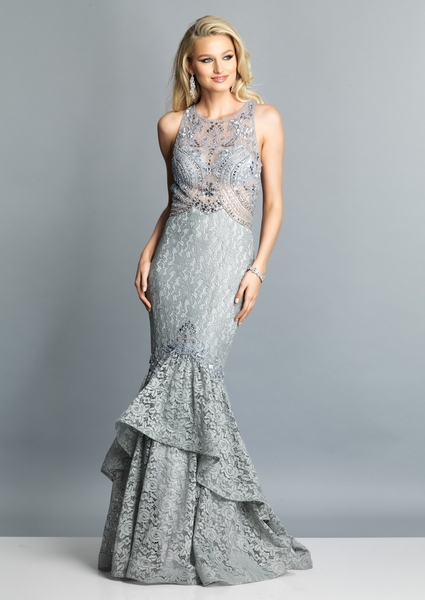 Dave and Johnny Prom Dress A7745
