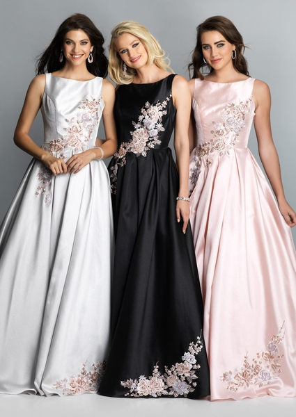 Dave and Johnny Prom Dress A7935