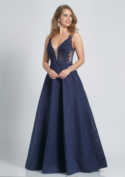 Dave and Johnny Prom Dress A7995