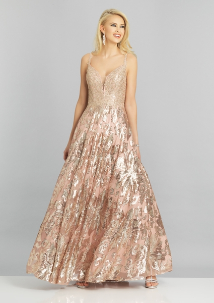 Dave and Johnny Prom Dress A8342