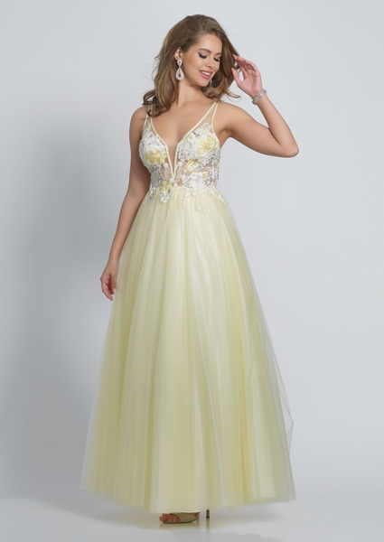 Dave and Johnny Prom Dress A8448