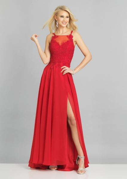 Dave and Johnny Prom Dress A8473