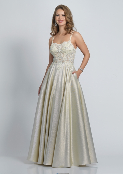 Dave and Johnny Prom Dress A9064