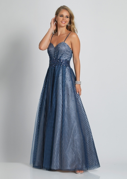 Dave and Johnny Prom Dress A9191