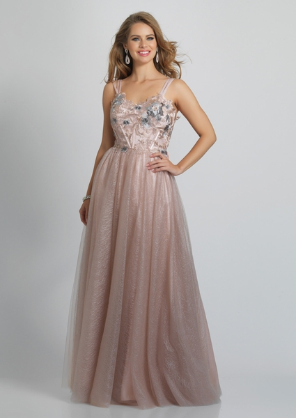 Dave and Johnny Prom Dress A9221