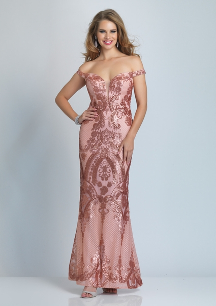 Dave and Johnny Prom Dress A9288