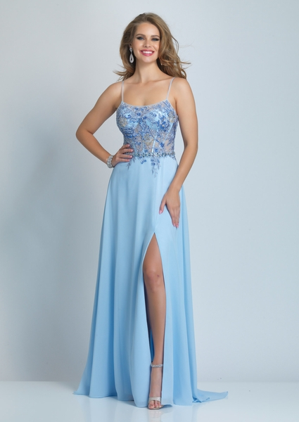Dave and Johnny Prom Dress A9475