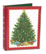 Christmas Card List Book Tree