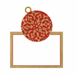 Christmas Place Cards Christmas Ornaments