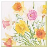 Cocktail Napkins Daffodil Waltz