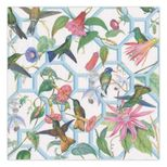 Cocktail Napkins Hummingbird Trellis