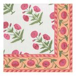 Cocktail Napkins Poppy Pink