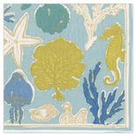 Cocktail Napkins Sealife Aqua