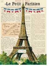 Decorative Art Prints Eiffel Tower