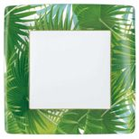 Dinner Plates Palm Fronds