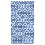 Hand Towels Amala Ikat Blue