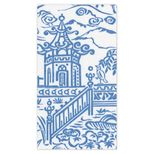 Hand Towels Pagoda Toile Blue