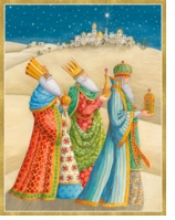 Holiday Cards Three Kings