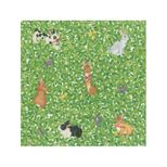 Lunch Napkins Bunnies