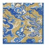 Lunch Napkins Dragon Gold