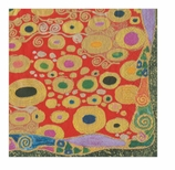 Lunch Napkins Klimt Red