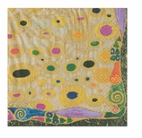 Lunch Napkins Klimt Silver
