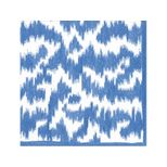 Lunch Napkins Moire Blue
