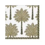 Lunch Napkins Palm Black