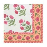 Lunch Napkins Poppy Pink